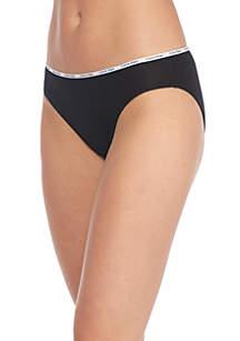 5 Pack Cotton Stretch Logo Bikini