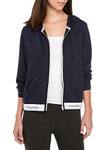 Calvin Klein Modern Zip Hoodie - QS5667