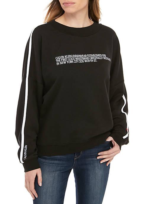 Long Sleeve Lounge Sweatshirt
