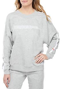 Calvin Klein Long Sleeve Lounge Sweatshirt