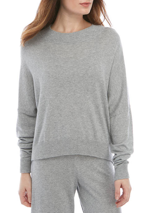 Calvin Klein Sophisticated Knits Long Sleeve Funnel Neck