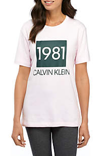 Calvin Klein Bold Lounge Short Sleeve Crew Neck T-Shirt