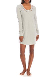 Wallflower Long Sleeve Sleepshirt
