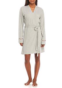 Wallflower Long Sleeve Robe