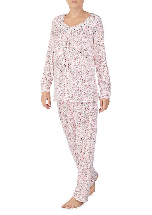 Aria 2-Piece Printed Pajama Set