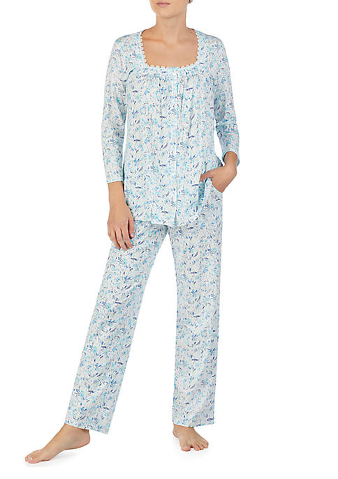 Aria 2-Piece Jersey Pajama Set 2988a0d87
