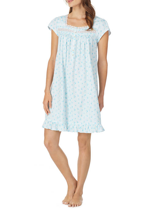 Eileen West Womens Short Gown