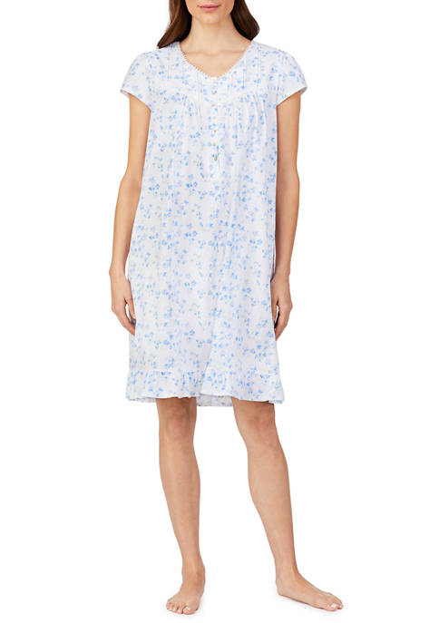 Eileen West Short Jersey Nightgown