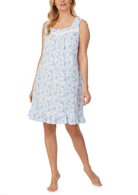 Eileen West Short Sleeveless Nightgown