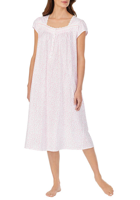 Eileen West Womens Cotton Knit Nightgown