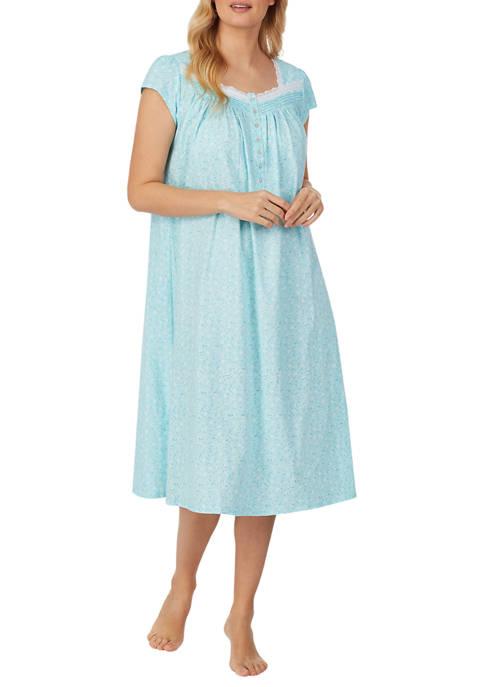 Eileen West 100% Cotton Knit Ballet Nightgown