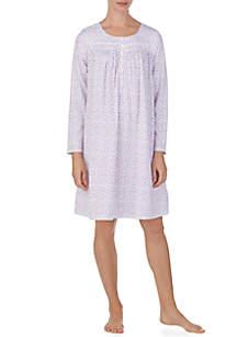 Long Sleeve Jersey Waltz Gown