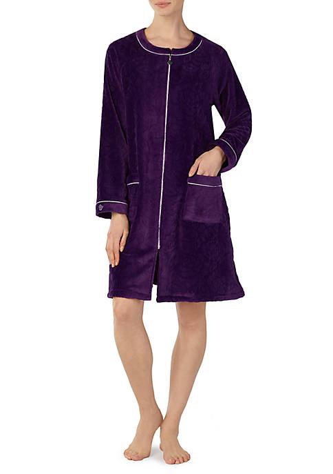 Eileen West Zip Up Night Robe