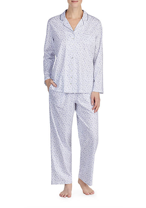 Eileen West 2-Piece Long Sleeve Pajama Set