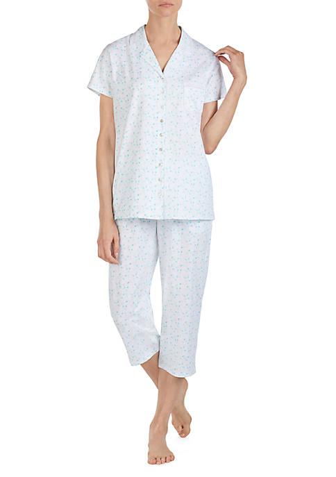 2 Piece Cotton Jersey Pajama Set