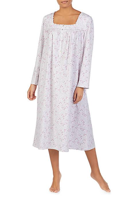 Eileen West Long Sleeve Knit Ballet Nightgown