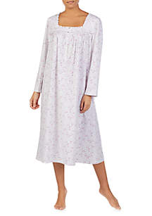 Eileen West Long Sleeve Knit Ballet Nightgown