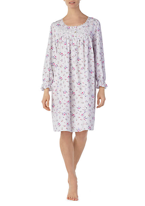 ... Eileen West Waltz Flannel Sleep Gown. Waltz Flannel Sleep Gown 9815e9b03