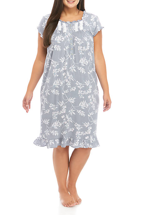Eileen West Womens Fashion Modal Waltz Nightgown