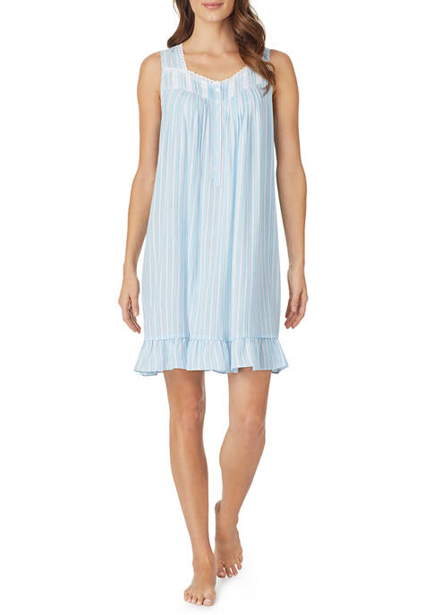 Eileen West Womens Woven Rayon Chemise