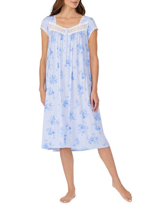 Eileen West Modal Cap Sleeve Waltz Gown