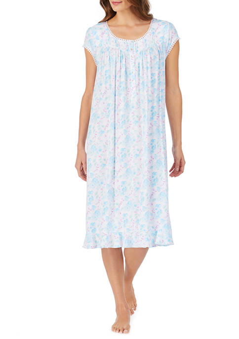 Eileen West Modal Waltz Cap Sleeve Nightgown
