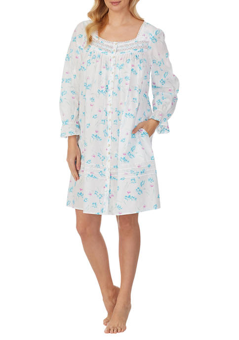 Eileen West 100% Cotton Lawn Long Sleeve Front