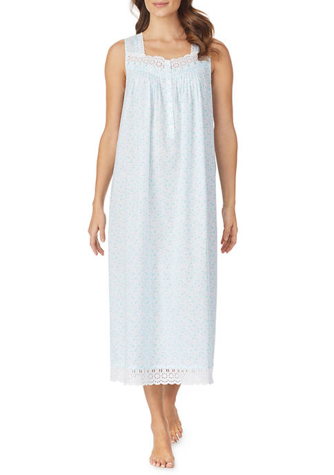 Eileen West Womens Cotton Woven Nightgown
