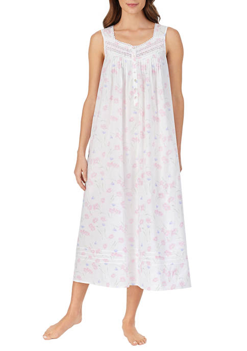Eileen West Womens Cotton Lawn Ballet Nightgown