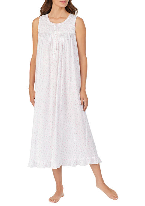 Eileen West Womens Cotton Modal Jersey Knit Nightgown