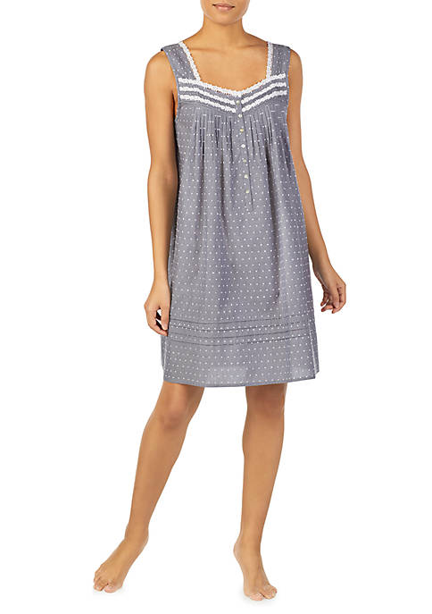 Woven Chemise Nightgown