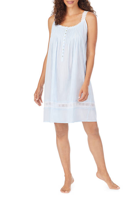 Eileen West Dobby Stripe Sleep Chemise