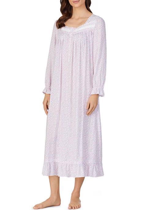 Eileen West Long Sleeve Woven Ballet Nightgown