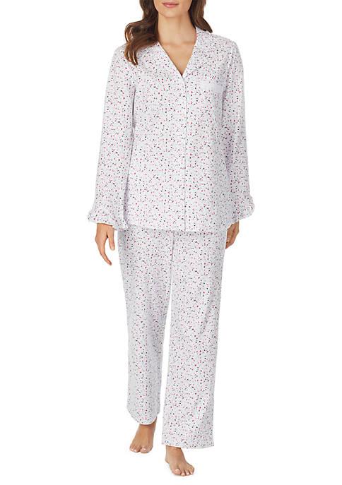Eileen West 2 Piece Cotton Pajama Set
