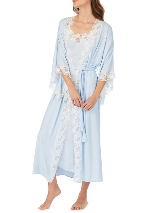Eileen West Satin Bridal Wrap Robe