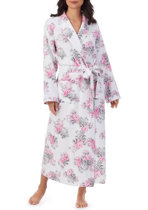 Eileen West Long Wrap Robe