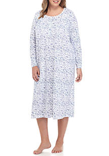 Long Sleeve Night Gown