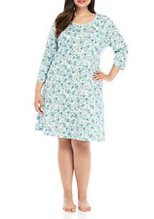Kim Rogers® Plus Size Sleep Gown