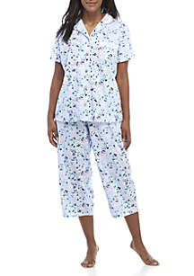 Kim Rogers® Flutter Pajamas 2-Piece Set
