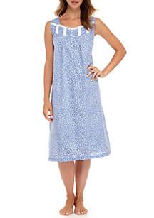 Sleeveless Woven Gown