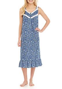 Kim Rogers® Sleeveless Sleep Gown