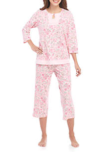 2-Piece 3/4 Sleeve Sleep Set