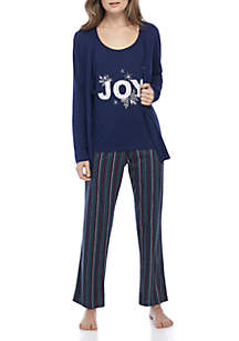 3-Piece Joy Pajama Set