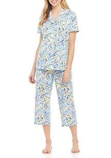 Kim Rogers® Ruffle Pajama Set