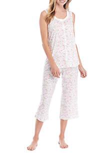 Kim Rogers® Sleeveless Pajama Set
