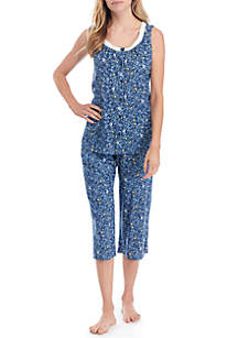 Kim Rogers® Sleeveless Pajama Set