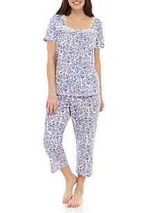 Kim Rogers® 2 Piece Pajama Pant Set