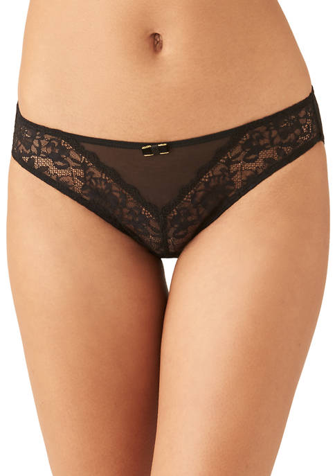 b.tempt'd by Wacoal Floral Lace with Mesh Center