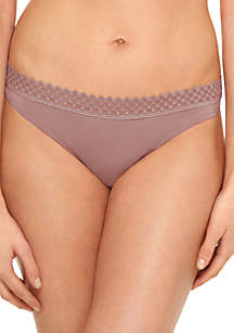 Tied In Dots Love Triangle Thong