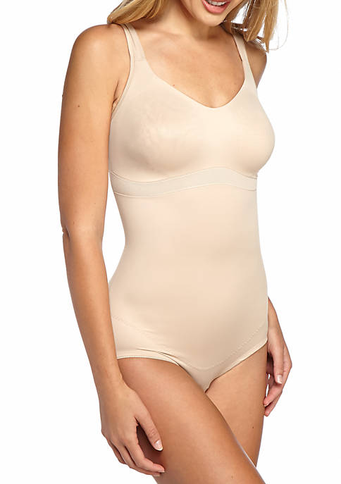 Flexible Fit Wire Free Body Briefer - 2900